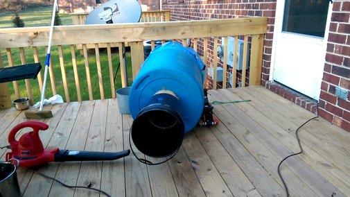 How to make a 55-gallon train horn