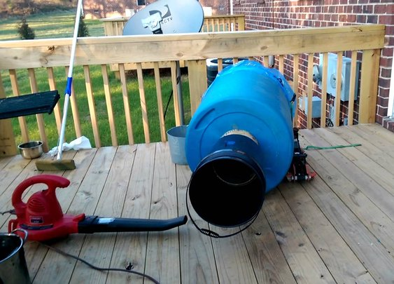 How to make a 55-gallon train horn