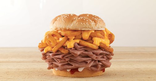 The Arbynator: Arby's Is Making a New Curly Fries Stuffed Sandwich