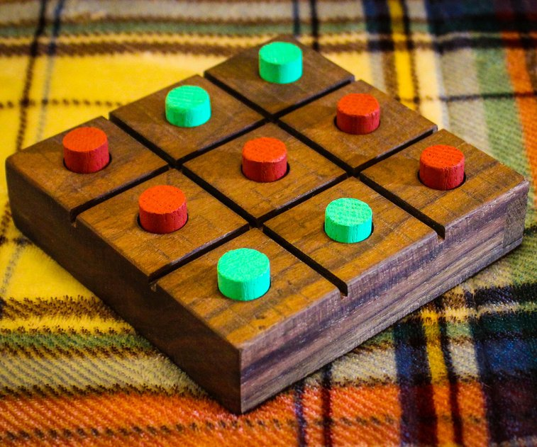 Wood Tic Tac Toe Board: 16 Steps (with Pictures)
