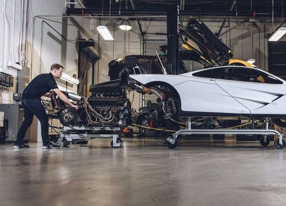The Only McLaren F1 Technician in North America