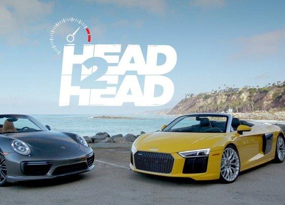 2017 Audi R8 V10 Spyder Vs. 2017 Porsche Turbo Cabriolet [Head 2 Head - Episode 93]