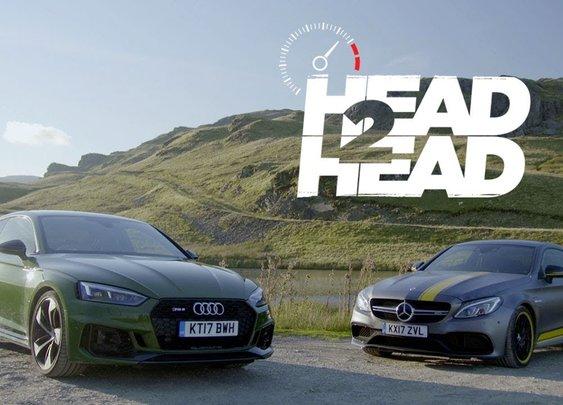 2018 Audi RS5 Vs. 2017 Mercedes-AMG C63 S Coupe [Head 2 Head - Episode 94]