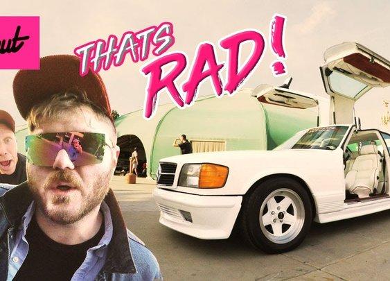 That's Rad! Radwood 80s/90s Car Show [Donut Media]
