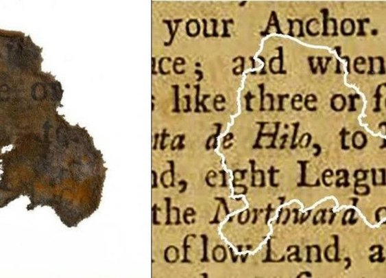 Paper Scraps Recovered From Blackbeard's Cannon Reveal What Pirates Were Reading