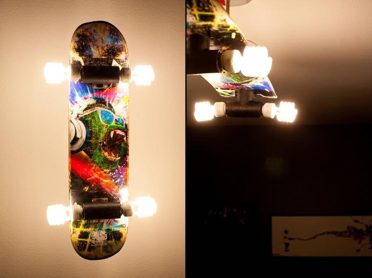 DIY Skateboard Light
