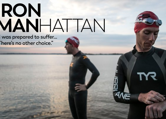 Meet The Crazy New Yorkers Who Completed Five Triathlons In Five Days