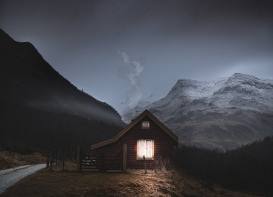 Cabin Near Stalheim, Norway