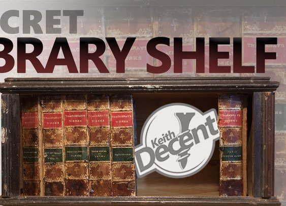 DIY Secret Library Shelf