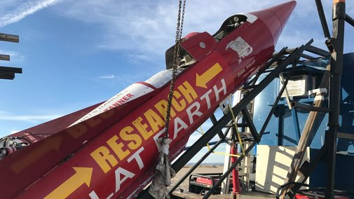 Rebuffed Flat Earther Plans New Launch Date of February 3rd