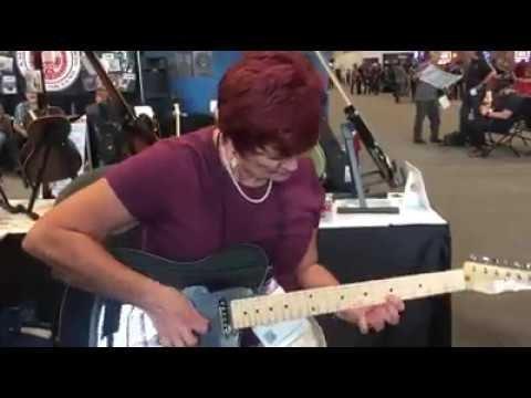 The Viral Granny Guitarist