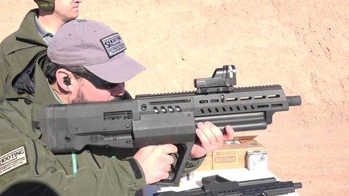 SHOT Show 2018: IWI Tavor TS12 Shotgun - YouTube
