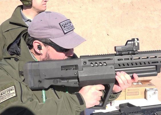SHOT Show 2018: IWI Tavor TS12 Shotgun - YouTube