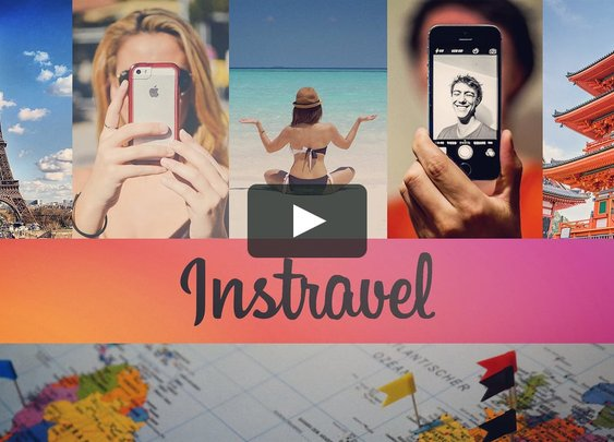 Instravel - A Photogenic Mass Tourism Experience on Vimeo