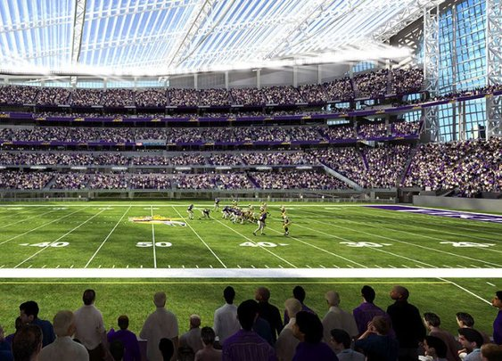 U.S. Bank Stadium | The Football Stadium Roof That Isn't There