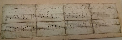 'Conceal yourself, your foes look for you': revealing a secret message in a piece of music