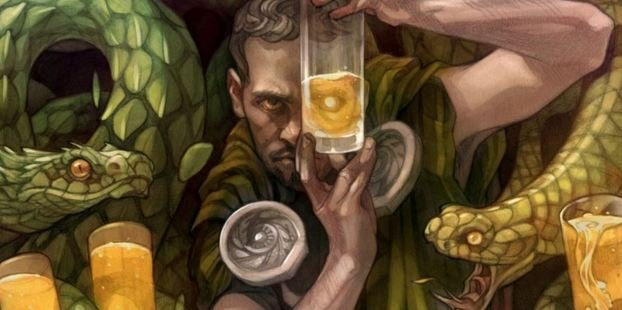 Legend 7 Brewing is using some awesome label art to tell its craft beer brand story