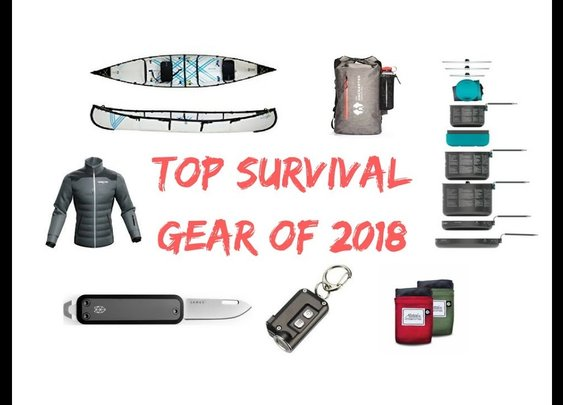 Top 10 Survival Gear of 2018 - YouTube