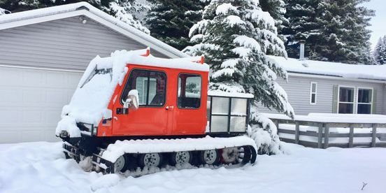 The Ice-Kicking Glory of the Snowcat