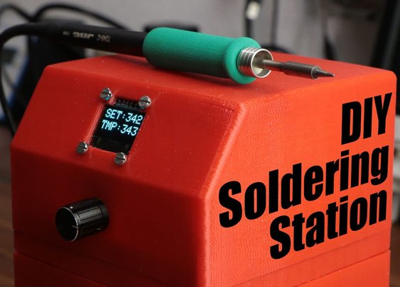 Making Your Own DIY Soldering Station