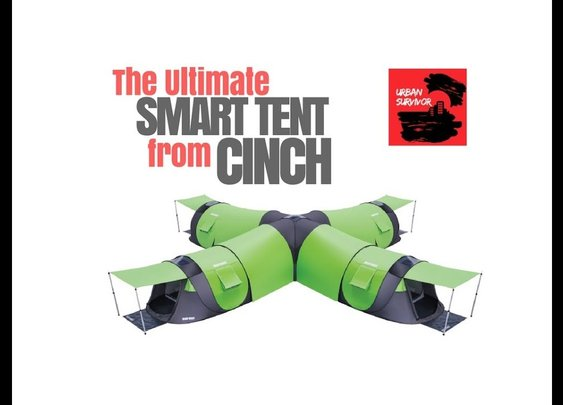 The Ultimate Smart Tent from Cinch - YouTube