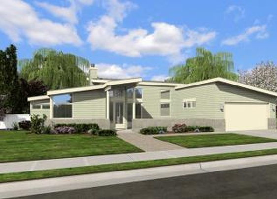 Contemporary Plan: 1,508 Square Feet, 2 Bedrooms, 2 Bathrooms - 2559-00004
