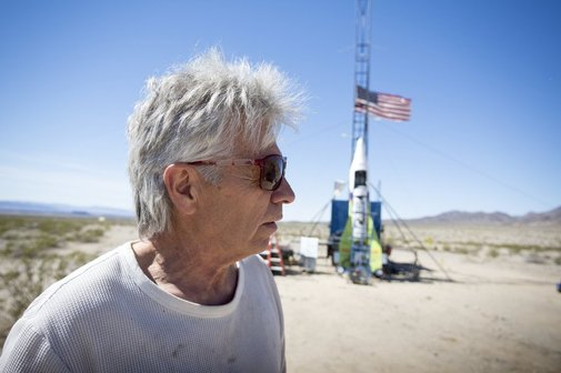 Self-taught rocket scientist blasts off into California sky