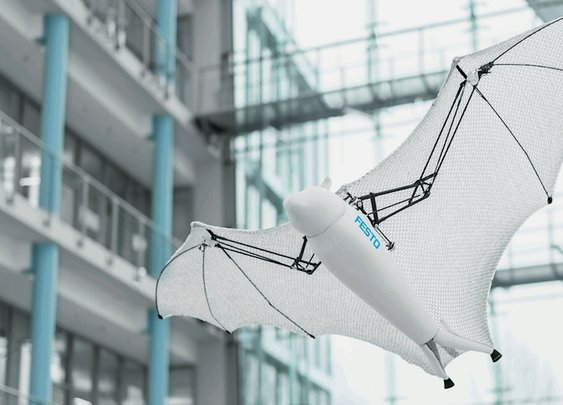 Festo's New Bionic Robots Include Rolling Spider, Flying Fox