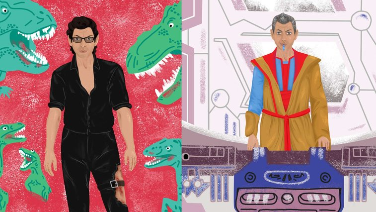 Create Your Favorite Jeff Goldblum With This Dress-Up Magnet Set