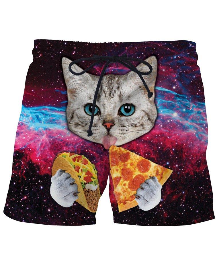 Taco Cat Swim Shorts