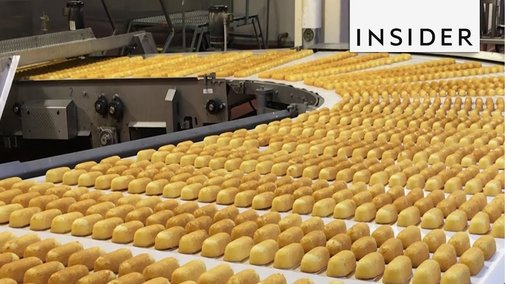 How Hostess Cakes Are Made - YouTube