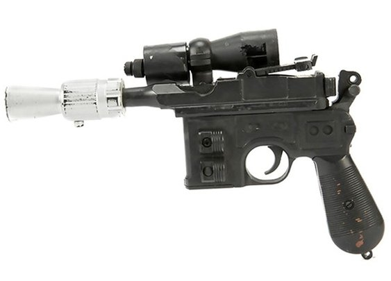 Harrison Ford's Han Solo Blaster From Return of the Jedi is up For Auction | Man of Many