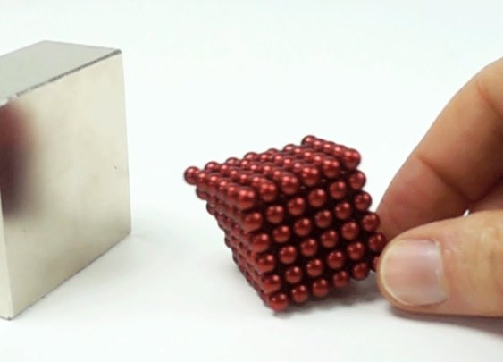 Magnet Collision in Slow Motion like Iron Man Nanobot suit up - YouTube