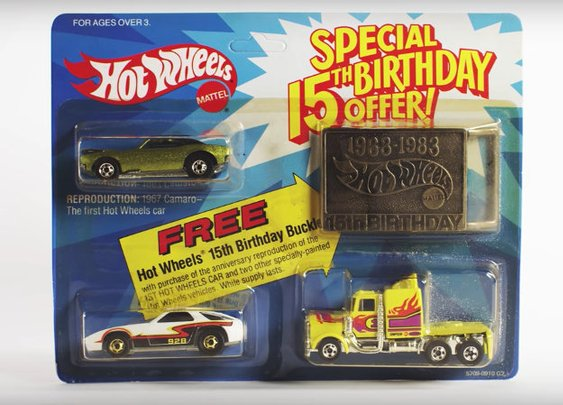 Video Of The Evolution Of Hot Wheels Cars To Celebrate Brand's 50th Anniversary - Geekologie