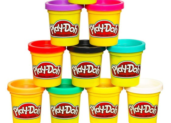 "Hasbro trademarks Play-Doh's ""sweet, slightly musky"" scent"