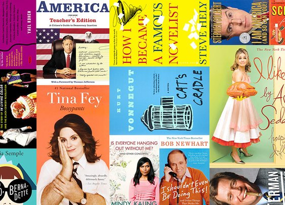 90 Best Books for Comedy Fans