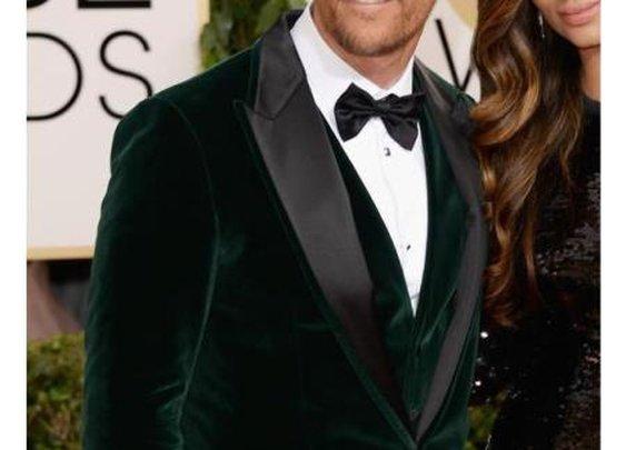Look Bold With Hunter Green Velvet Tuxedo