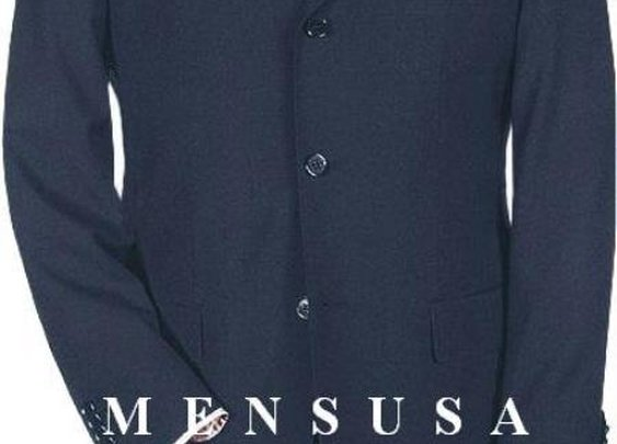 Extra Long Suit With Two Buttons In Navy Blue Color For Tall Men