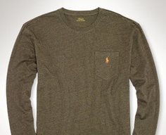 Ralph Lauren Classic Long-Sleeved Shirt $14.99