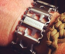 COOL ITEM: Tread 25-in-1 Leatherman Bracelet