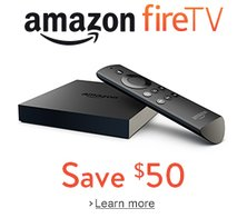Amazon Fire TV $34 or Free Fire Stick with Sling TV