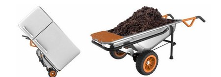 WORX 8-In-1 Wheelbarrow
