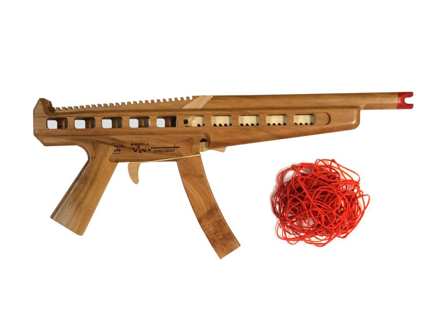 machine rubber band gun