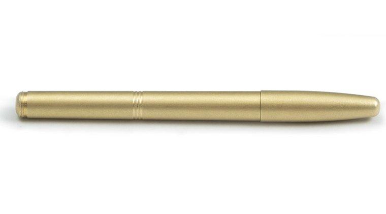 Solid Brass Machine Era Pen