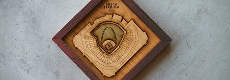 Ballpark Diamonds: Wood Sculptures of Your Ballpark