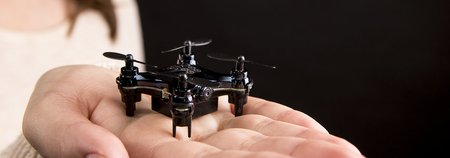 World's Smallest First-Person Drone