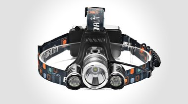 Super Bright Waterproof LED Headlamp $19.99