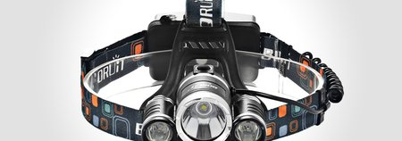 Super Bright Waterproof LED Headlamp $19.99