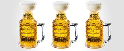 """Stanley Stein"" Hockey Beer Mug"