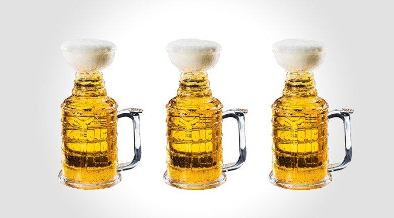 """""""Stanley Stein"""" Hockey Beer Mug"""